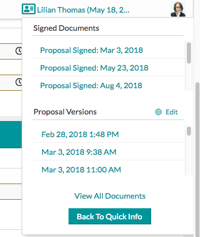 stored signed contracts